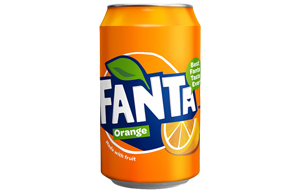 Fanta Cans - Orange - 24x330ml