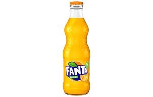 Fanta Glass Bottles - 24x330ml