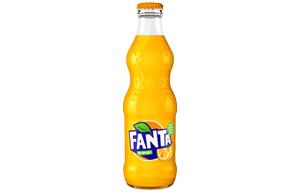 Fanta Glass - Orange - 24x330ml