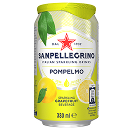San Pellegrino - Pompelmo - 12x330ml Cans