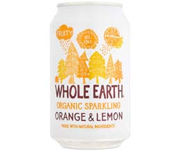 Whole Earth - Organic Oranges & Lemons - 24x330ml