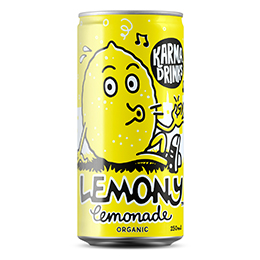 Karma Drinks - Cans - Lemony Lemonade - 24x250ml