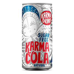 Karma - Cola Sugar Free Cans - 24x250ml