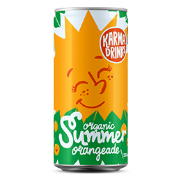 Karma - Summer Orangeade Cans - 24x250ml