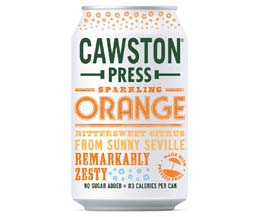 Cawston Press Cans - Sparkling Orange - 24x330ml