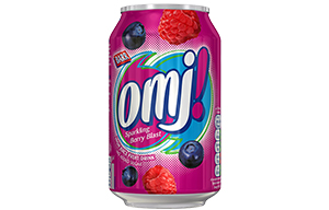 OMJ - Sparkling Berry Blast - 24x330ml Cans