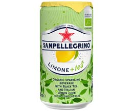 San Pellegrino Sparkling Ice Tea - Lemon - 24x250ml