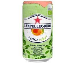 San Pellegrino Sparkling Ice Tea - Peach - 24x250ml
