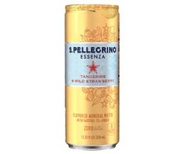 San Pellegrino Essenza - Tangerine & Wild Strawberry - 12x330ml