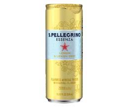 San Pellegrino Essenza - Lemon & Lemon Zest - 12x330ml