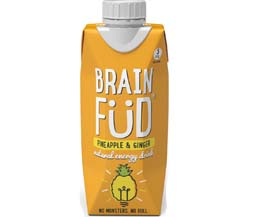 Brain Fud Tetra - Pineapple & Ginger - 12x330ml