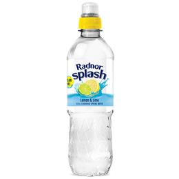 Radnor Splash - Sports Cap - Lemon & Lime - 24x500ml