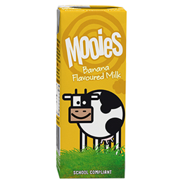 Mooies Flavoured Milk - Banana - 27x200ml