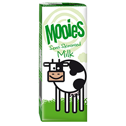 Mooies Milk - Semi Skimmed - 27x200ml