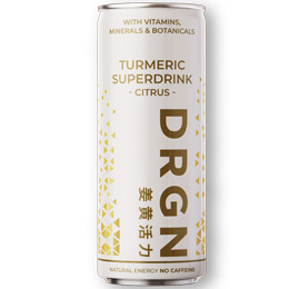 Drgn - Superdrink Turmeric Citrus - 24x250ml