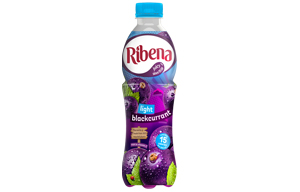 Ribena Bottle - Light Blackcurrant - 12x500ml
