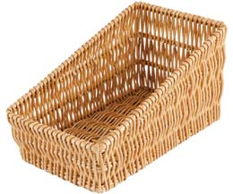Rdp - Medium Sloping Wicker Tray - 420x240x215/110Mm - 1x1
