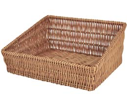 Rdp - Ex Lrg Sloping Wicker Tray - 520x480x240/130Mm - 1x1
