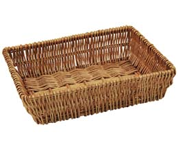 Rdp - Small Wicker Tray - 330x240x70Mm - 1x1