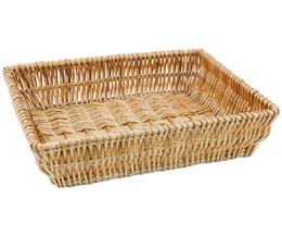 Rdp - Medium Wicker Tray - 420x320x90Mm - 1x1