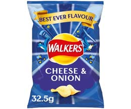 Walkers - Cheese & Onion - 32x32.5g