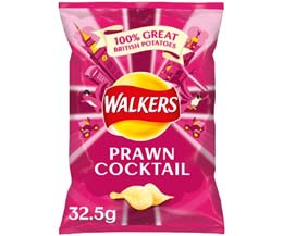 Walkers - Prawn Cocktail - 32x32.5g