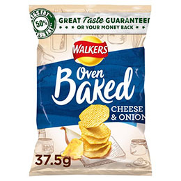 Walkers - Baked - Cheese & Onion - 32x37.5g