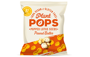 Popped Lotus Seeds - Peanut Butter - 12x20g