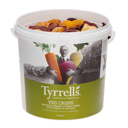 Tyrrells TUB - Mixed Root Vegetables - 1x600g