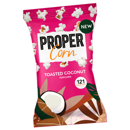 Propercorn - Toasted Coconut - 24x25g