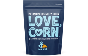 Love Corn - Sea Salt - 10x45g