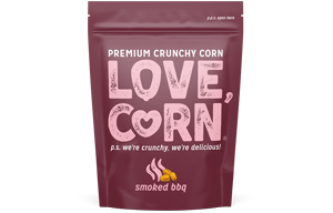 Love Corn - Smoked Bbq - 10x45g