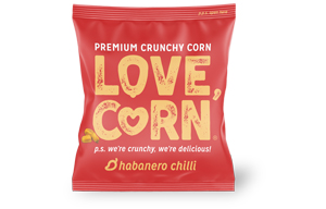 Love Corn - Habanero - 100x20g