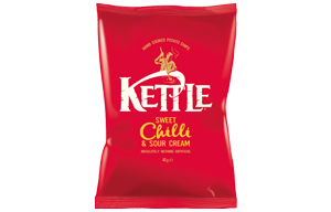 Kettles - Sweet Chilli & Sour Cream - 18x40g