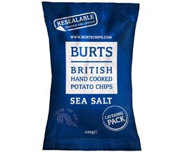 Burts - Ready Salted - 4x450g