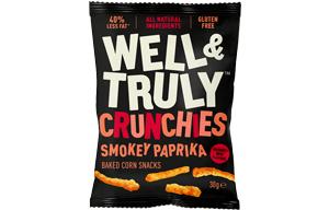 Well & Truly Crunchies - Smokey Paprika - 10x30g
