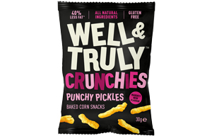 Well & Truly Crunchies - Punchy Pickles - 10x30g