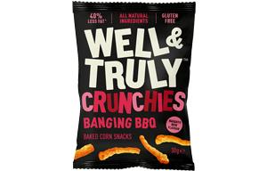 Well & Truly Crunchies - Banging BBQ - 10x30g