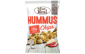 Eat Real - Hummus Chips - Chilli Cheese - 12x45g