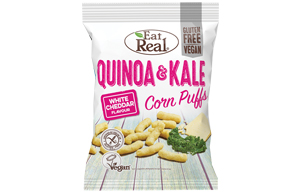 Eat Real - Quinoa & Kale Puff - White Cheddar - 12x40g