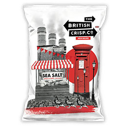 British Crisps - Sea Salt - 26x40g