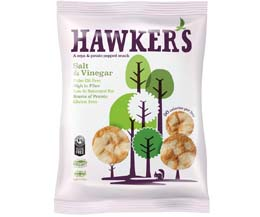 Hawkers - Salt & Vinegar - 18x23g