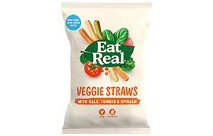 Eat Real - Vending - Veggie Straws - 24x22G