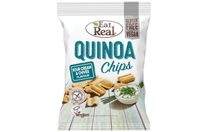 Eat Real - Vending - Quinoa - Sour Cream - 24x22g