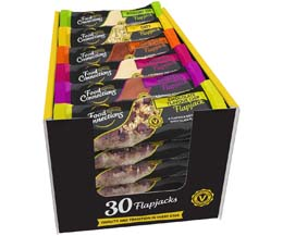 Food Connections - Luxury Mixed Flapjacks - 30x100g
