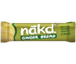 Nakd Nudie - Ginger Bread - 18x35g