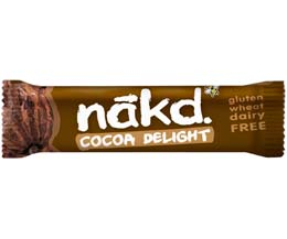 Nakd Nudie - Cocoa Delight - 18x35g