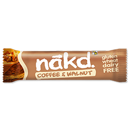 Nakd Nudie - Coffee & Walnut - 18x35g