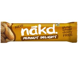 Nakd Nudie - Peanut Delight - 18x35g