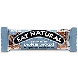 Eat Natural - Protein Pack Peanut & Choc - 12x45g